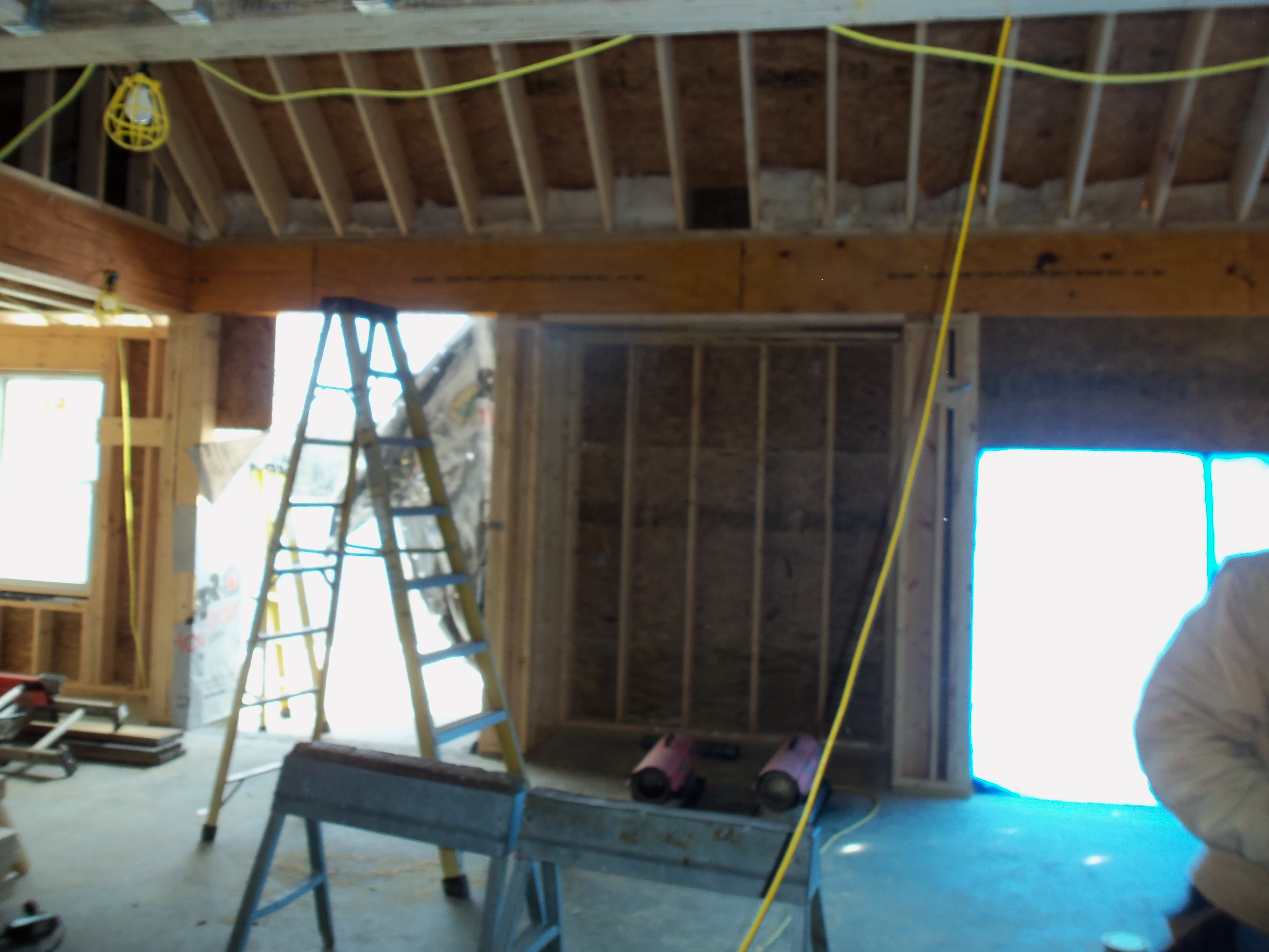 Interior roughin 14 for Midcoast home designs