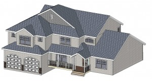 New Jersey Renovation 3D view