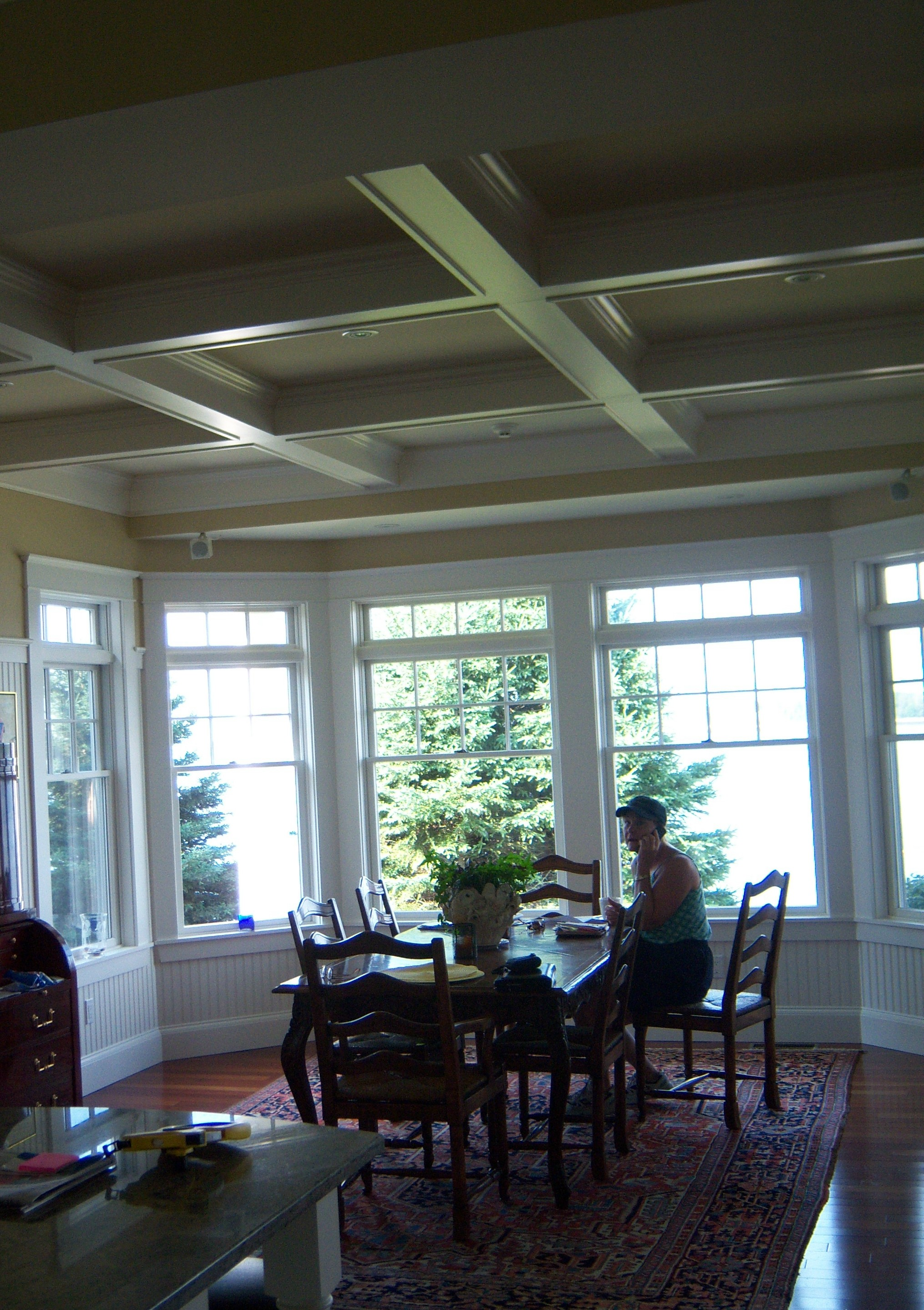 Porter dining room for Midcoast home designs